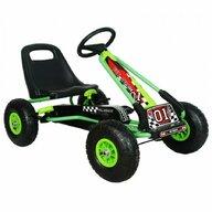 M-Toys - Kart Cu volan, Cu pedale, Verde