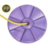 KBT - Leagan rotund din plastic Monkey PP(galbena)10 - Mov