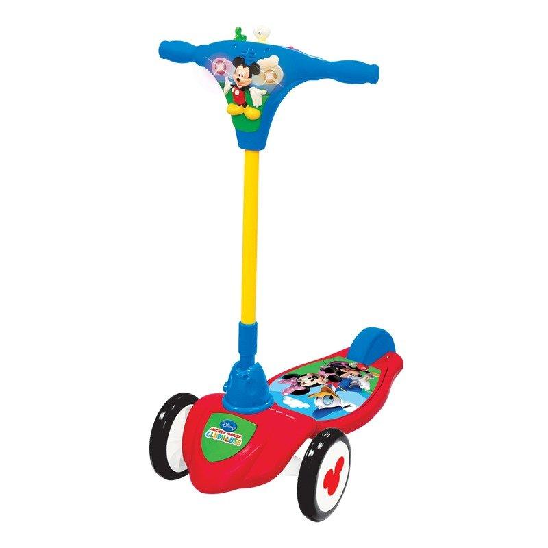 Trotineta Mickey interactiva Kiddieland din categoria Triciclete si Trotinete pentru copii de la Kiddieland