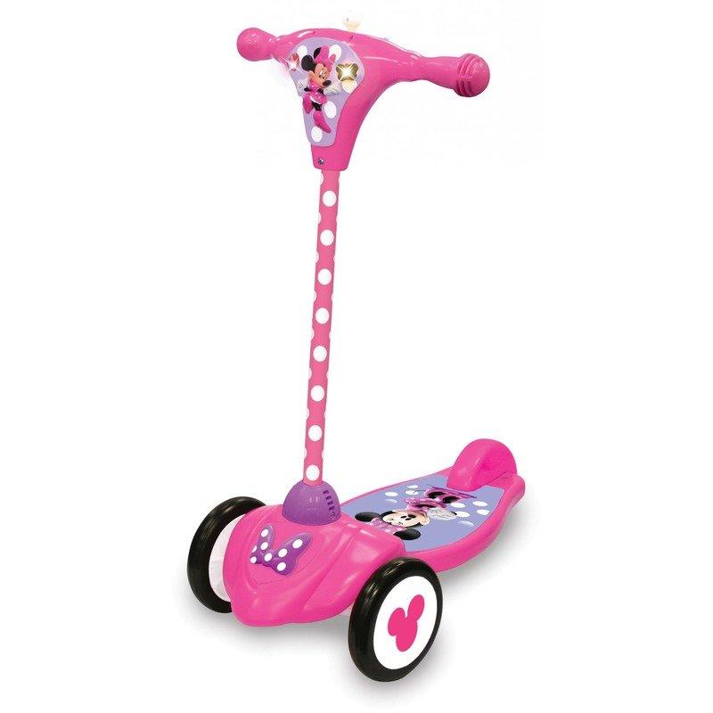 Trotineta Minnie interactiva Kiddieland din categoria Triciclete si Trotinete pentru copii de la Kiddieland