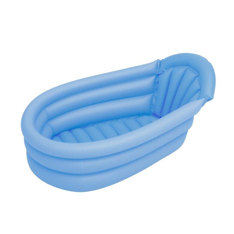 Kiokids Cadita de baie gonflabila albastra din categoria Cadite si suporturi cadite de la Kiokids