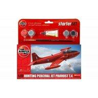 Airfix - Set de constructie Avion Hunting Percival Jet Provost T.4 Scara 1:72 Vintage Classics