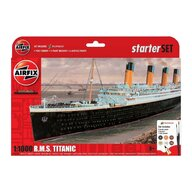 Airfix - Kit constructie Nava de croaziera R.M.S. Titanic Gift Set, scara 1:400