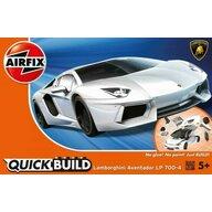 Airfix - Kit constructie Quick Build Lamborghini Aventador, White