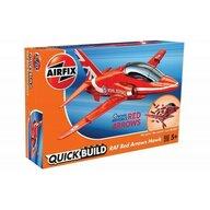 Airfix - Kit constructie Quick Build Raf Arrows Hawk, Red