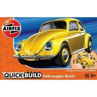 Airfix - Kit constructie Quick Build VW Beetle, Yellow