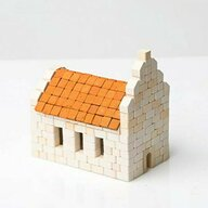 Wise Elk - Kit constructie caramizi Biserica, 340 piese reutilizabile