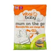 Vital Baby - Kit Mum On The Go (3 bavete+1 saltea de infasat)