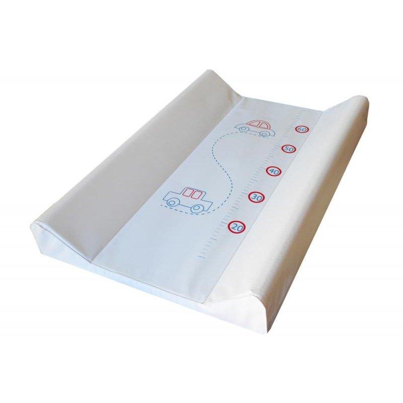 KLUPS Saltea De Infasat Bebe Cu Intaritura 70×50 Klups Masinuta Alb 030 din categoria Saltele si accesorii infasat de la Klups