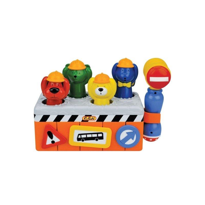 K`s Kids Jucarie activitati Micul Constructor 12+