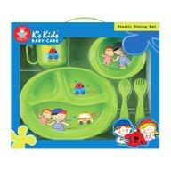 K's Kids Set masa pentru bebelusi- 5 piese Verde