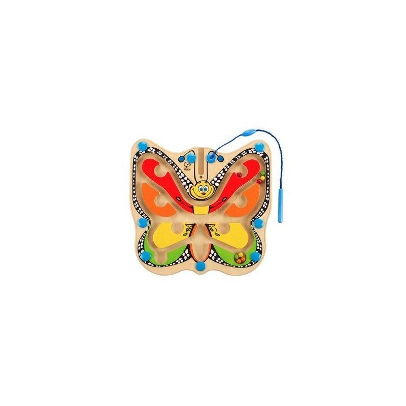 Labirint Fluture colorat – HAPE din categoria Jucarii de lemn de la Hape