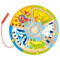 Goki - Joc magnetic Labirint circular, Multicolor