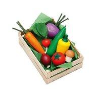 Erzi - Ladita legume asortate din lemn,