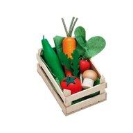 Erzi - Ladita mica cu legume asortate din lemn,