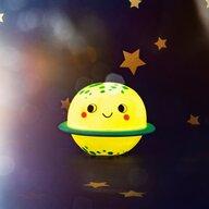 Sass & Belle - Lampa de veghe Planet cu Led, Cu baterii