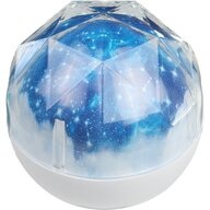 Bambinice - Lampa de veghe Diamond Cu proiector, Alb