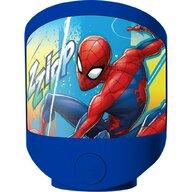 SunCity - Lampa de veghe Spiderman, Albastru