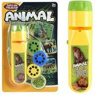 Bambinice - Proiector Lanterna Cu 3 diapozitive Animale