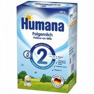 Humana - Lapte Praf, 2 GOS, 600 G, 6 Luni+