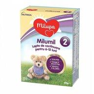 Milupa - Lapte praf Milumil 2 600 gr, 6-9 luni