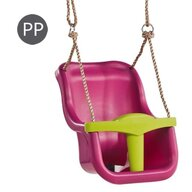 KBT - Leagan Baby Seat Luxe, Purple/Lime green