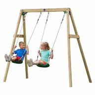 Plum - Leagan Double Swing Pentru 2 copii din Lemn