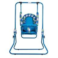 Top Kids - Leagan Dots Pliabil, Spatar reglabil din Metal, 107x72 cm, Albastru