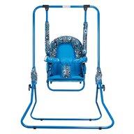 Top Kids - Leagan Hearts Pliabil, Spatar reglabil,  Cu bara detasabila din Metal, 107x72 cm, Albastru