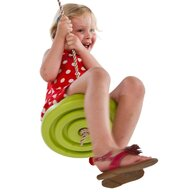 KBT - Leagan rotund din plastic Monkey, Lime Green