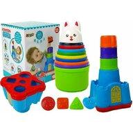 Lean Toys - Joc sortare, Primul meu castel cu animale
