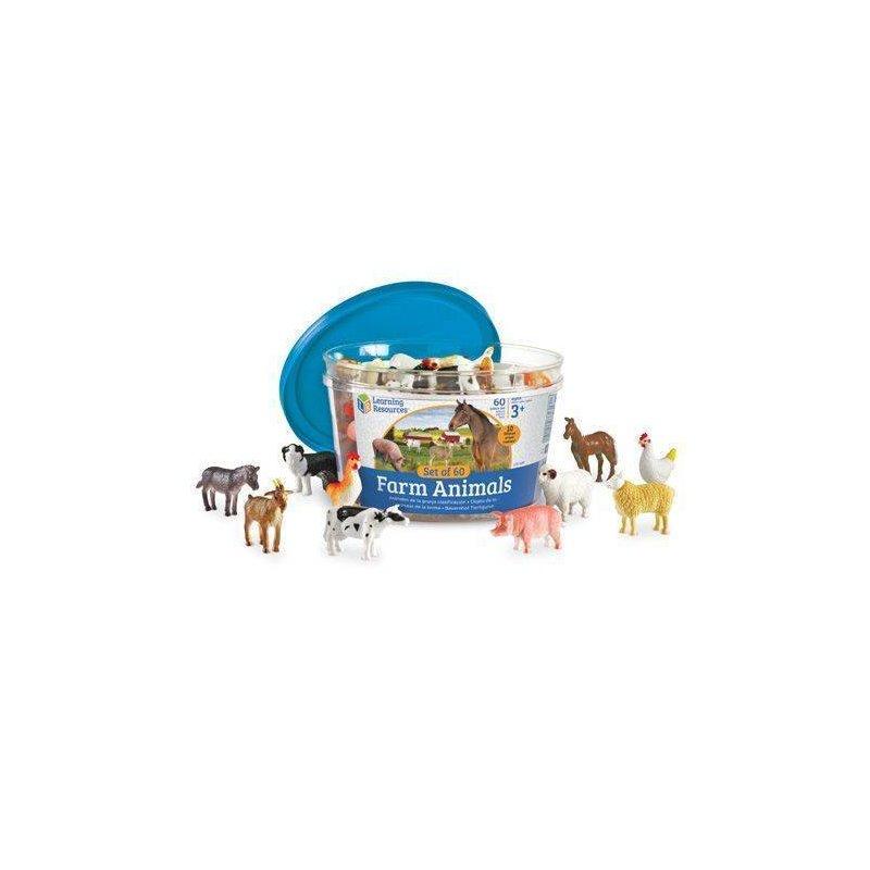 Learning Resources Set pentru sortat – Animalutele mele preferate din categoria Jucarii educative de la Learning Resources