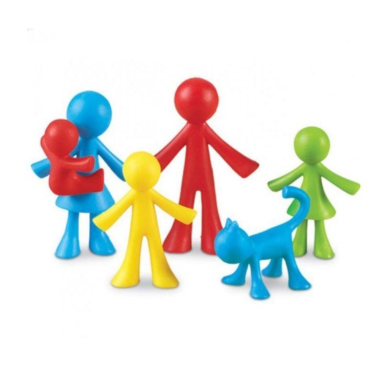 Learning Resources Set pentru sortat si numarat – Familia mea din categoria Jucarii educative de la Learning Resources
