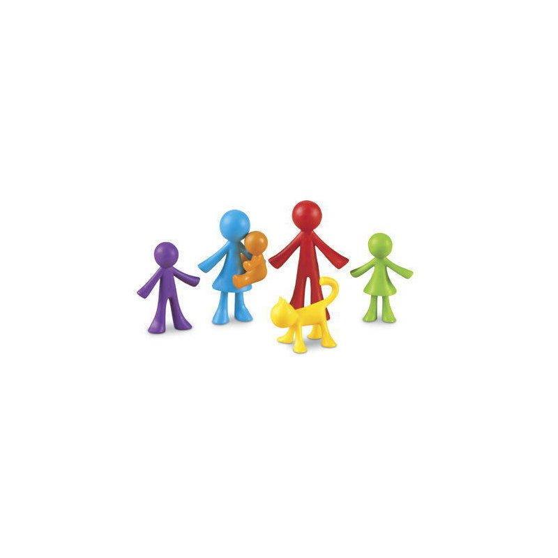 Learning Resources Set pentru sortat si numarat – Familia mea (72 piese) din categoria Jucarii educative de la Learning Resources