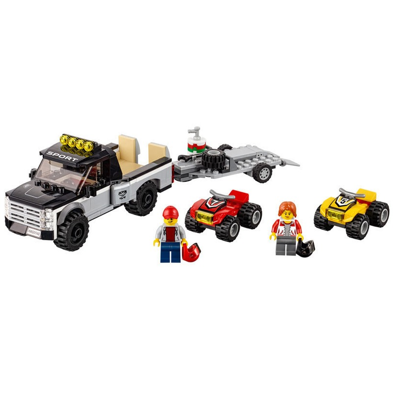 LEGO® Echipa de curse pe ATV din categoria Lego de la LEGO