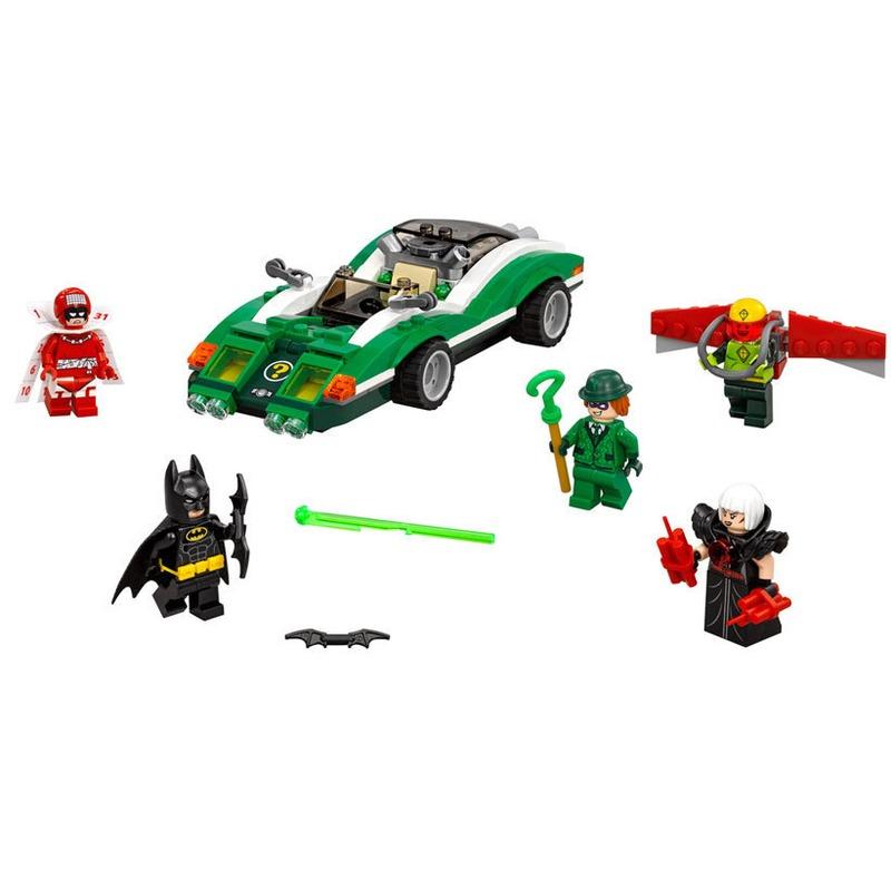 LEGO® Masina enigmatica de curse Riddler™ din categoria Lego de la LEGO