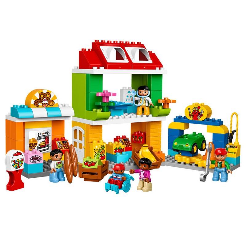LEGO® Piata mare a orasului din categoria Lego de la LEGO