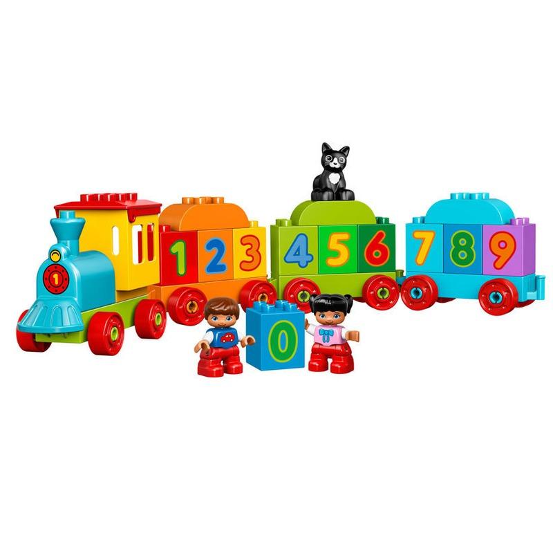 LEGO® Trenul cu numere