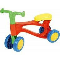 Lena - Tricicleta fara pedale din plastic, Multicolor