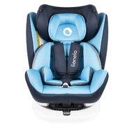 Lionelo - Scaun auto Bastiaan, rotativ 360 grade, cu Isofix, 0-36 kg, Blue