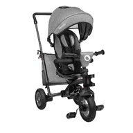 Lionelo - Tricicleta multifunctionala cu sezut reversibil, pliabila, Tris, Stone Grey, Resigilata
