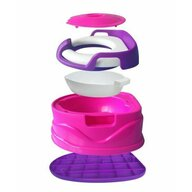 Little Mom - Olita multifunctionala Potty 3 in 1 Pink