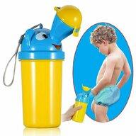 Little Mom - Pisoar portabil pentru baieti Pee Trainer Yellow