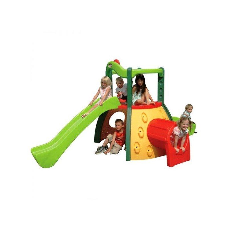 Little Tikes Spatiu de joaca Aventura (galben verde rosu) din categoria Centre de activitati de la Little Tikes