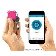 Lapa - Localizator Bluetooth, dispozitiv anti-pierdere si localizare rapida+Cadou Set 2 semnalizatoare luminoase Proviz, Pink