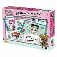Lisciani - Set Scoala de desen LOL Surprise