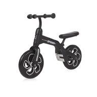 Lorelli - Bicicleta de tranzitie pentru copii, Spider, fara pedale, roti mari, Black