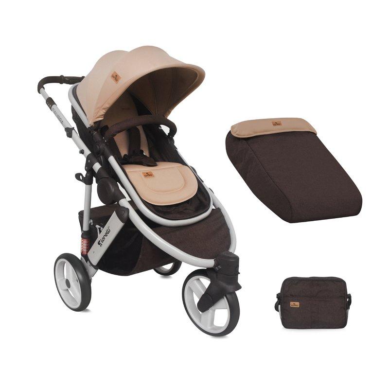 Lorelli Carucior sistem Calibra 3 Brown & Beige din categoria Carucioare copii de la Lorelli
