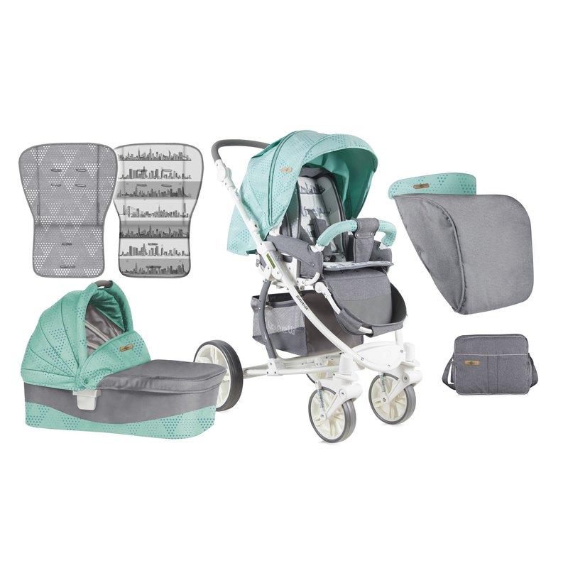 Lorelli Carucior Sistem Savana Green & Grey din categoria Carucioare copii de la Lorelli