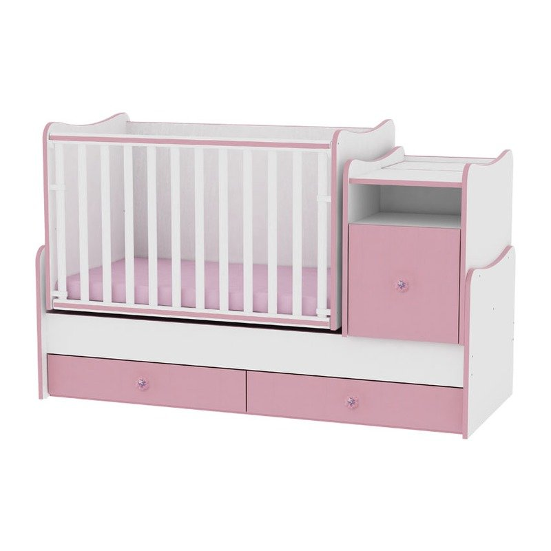 Lorelli Mobilier transformabil Trend Plus White/Pink